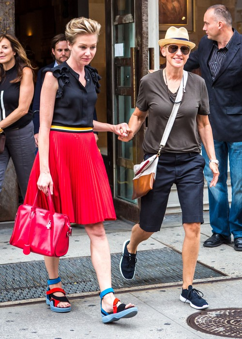 Ellen Degeneres Gets Portia de Rossi 'Scandal' Role - Divorce Avoided by Multi-Episode Arc Bribe?