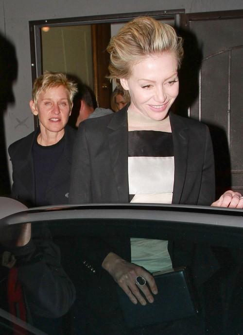 Ellen DeGeneres and Portia de Rossi's Marriage At Breaking Point: Portia Removes Wedding Ring - Report