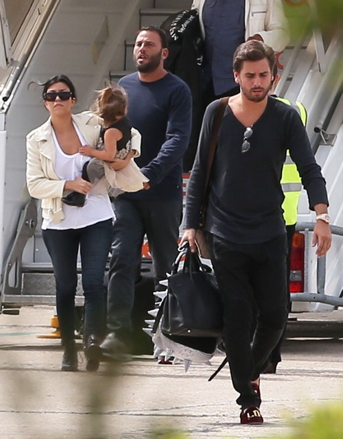 Pregnant Kourtney Kardashian and Scott Disick Break-Up: He Doesn't Want Another Baby?