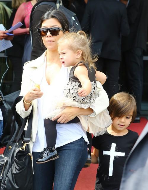 Pregnant Kourtney Kardashian: Third Child With Scott Disick and Baby Bump Photos