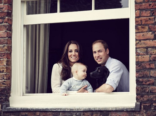 SEE Prince George New Pic: Kate Middleton and Prince William Won't Let Prince Harry and Cressida Bonas Babysit (PHOTO)