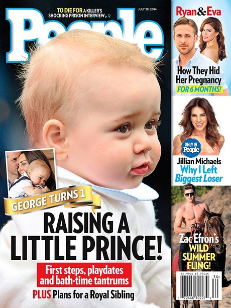 Kate Middleton Pregnant - Birthday Boy Prince George Prepares For Royal Sibling! (PHOTO)