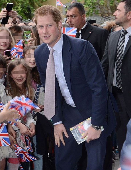 Prince Harry Visits The Maxxi Museum In Rome