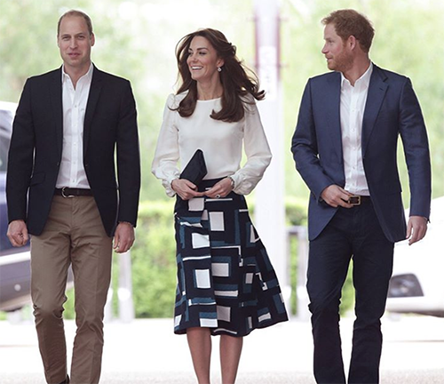 Prince Harry Introduces Meghan Markle's Parents To Prince