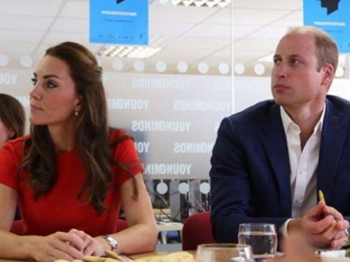 Emotional Prince William: