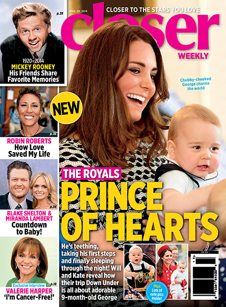 Kate Middleton and Prince William Confess Trip To Australia All About Showing Off Adorable Son Prince George - ROYAL EASTER SHOW PICS! (PHOTOS)