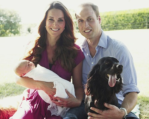 Kate Middleton & Prince William Release New Pictures of Royal Baby Prince George Alexander Louis! (PHOTOS)