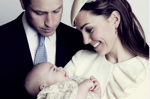 Prince George New Christening Picture With Kate Middleton and Prince William (PHOTOS)