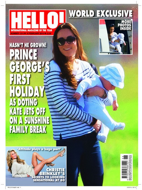 Kate Middleton And Prince George Spotted On Caribbean Holiday Together - First Photos!