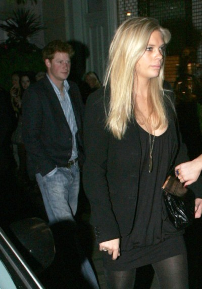 Prince Harry Dumps Cressida Bonas For Chelsy Davy At High Society Wedding (VIDEO) 0623