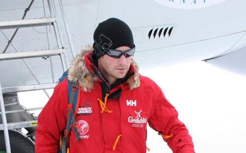 Prince Harry Says Kate Middleton and Prince William's Son George is a Screaming Child - Prefers Antartica (PHOTOS - VIDEO)