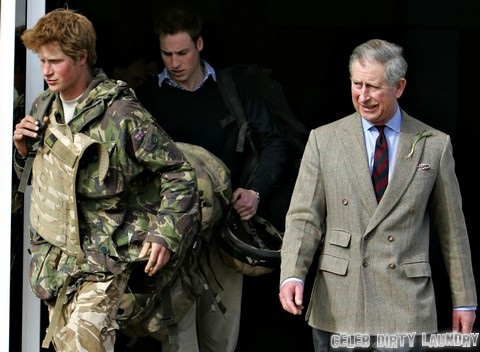 Prince Harry Returns Home From The War (USA AND OZ ONLY)