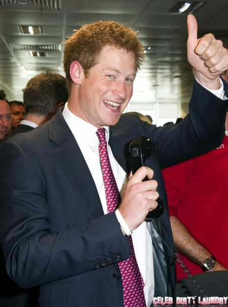 Prince Harry Attends BDC Partners Charity Day To Commermorate The Lives Lost In The 9/11 Attacks.
