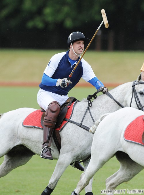 Kate Middleton and Prince George Dumped By Prince William To Play Polo With Prince Harry - Prince Charles All Over Again?