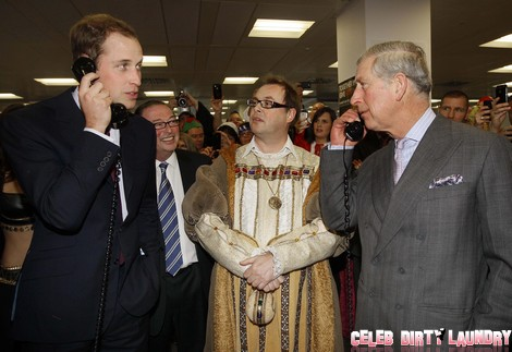 Prince William And Prince Charles Attend ICAP Charity Day