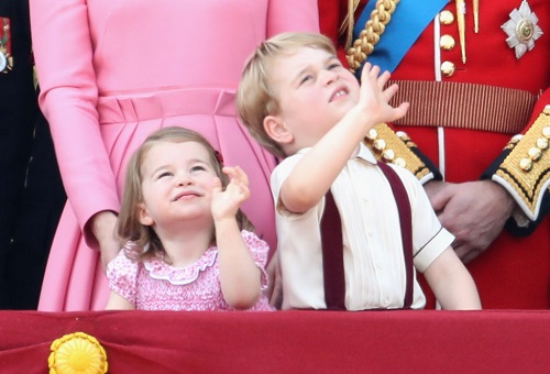 Kate Middleton Confused: Princess Charlotte Left Off of Royal Father's Day Card
