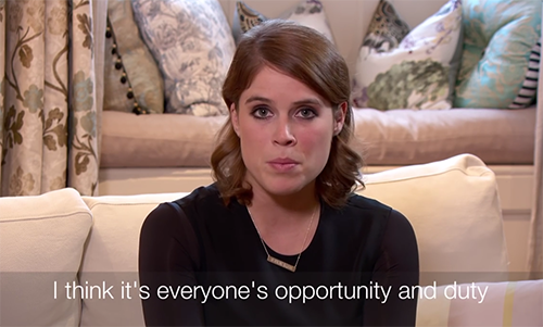 Princess Eugenie Party Girl Days Over: Shares Emotional Video Championing Salvation Army Campaign Against Human Trafficking