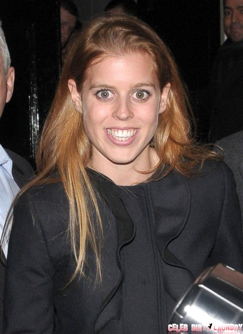 Princess Beatrice At The Arts Club In London