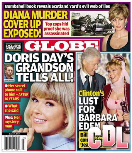 GLOBE: Princess Diana's Murder Cover Up Exposed!
