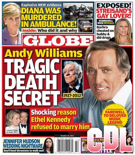 GLOBE: Princess Diana Murdered In The Ambulance!