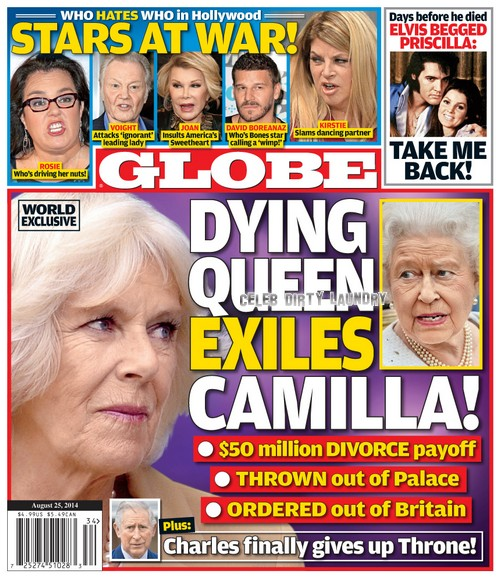 Camilla Parker-Bowles and Prince Charles Divorce - Queen Elizabeth Banishes Camilla From England