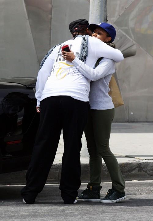 Queen Latifah Engaged and Marrying Girlfriend Eboni Nicholas? (PHOTOS)