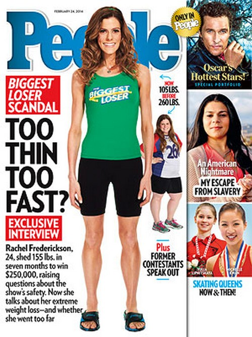 Biggest Loser's Rachel Frederickson's Eating Disorder: Opens Up About Extreme Weight Loss (PHOTO)