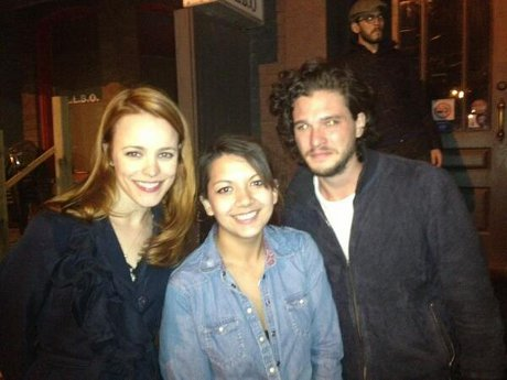 Rachel McAdams & Kit Harington Spotted Together In Toronto - Getting Romantic?