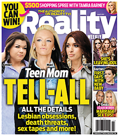 A New Tell-All Reveals The Secrets Of The Cast Of 'Teen Mom' (Photo)