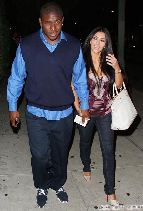 Kim Kardashian and Reggie Bush Share Baby Phone Calls - Kanye West In A Jealous Sulk