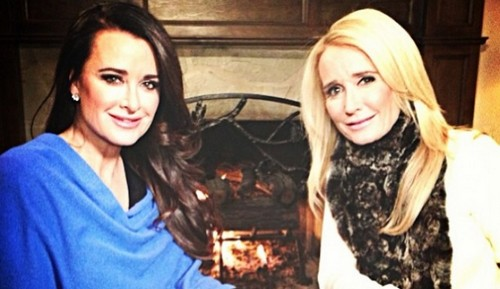 Kyle and Kim Richards Fighting: The Real Housewives Of Beverly Hills Season 5 Premiere Crazy, Violent Rumors