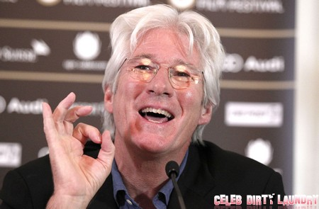Richard Gere Flirts With Married Blonde Woman at Restaurant