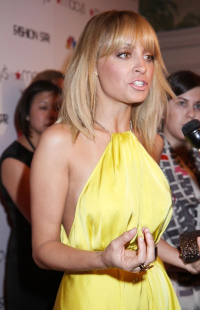Nicole Richie Jealous Of Jessica Simpson, Quitting Fashion Star 0615