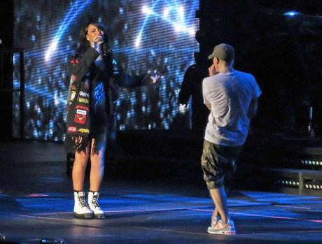Drake Jealous of Eminem and Rihanna Hook-Up On Monster Tour