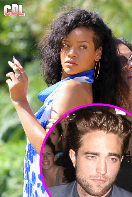 Rihanna wants to Hookup with Robert Pattinson -- Sending him 'Sexy, Funny' Texts!