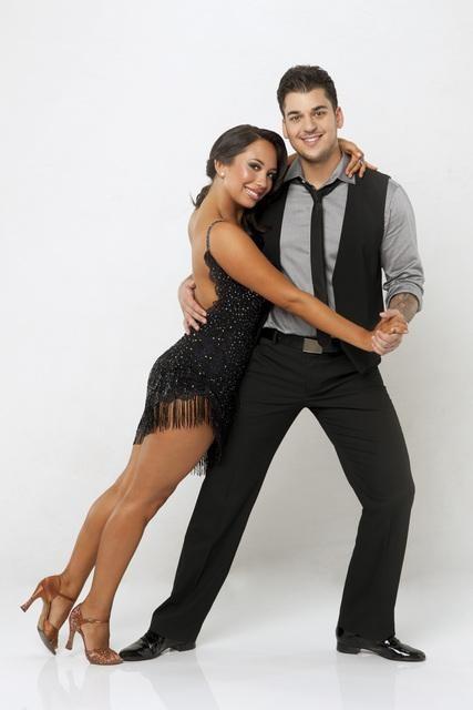 Rob Kardashian's Dancing With the Stars Tango Performance Video 10/31/11