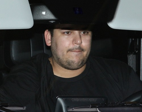 Rob Kardashian Sizzurp and Weed Photos Emerge - Drug Addict Pics - Pressure To Go To Rehab by Family