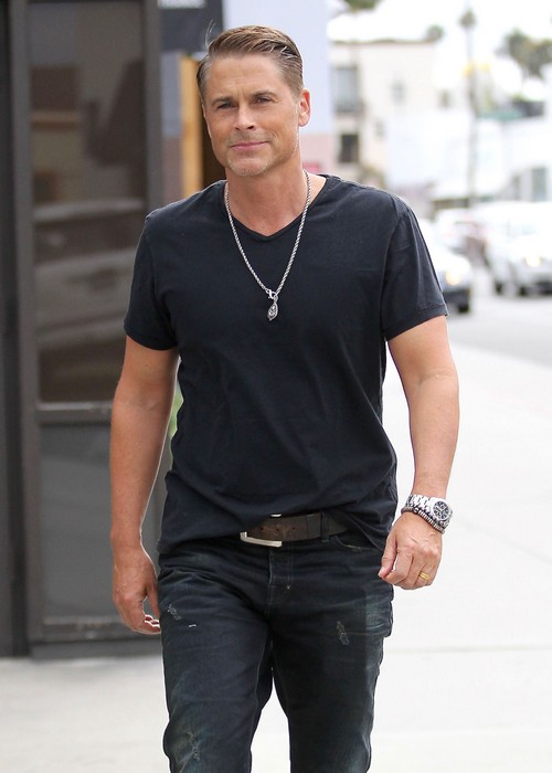 Rob Lowe In Talks With ABC To Join Kelly Ripa On Live! - Michael Strahan's Replacement?