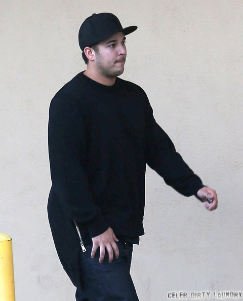 Rob Kardashian Felony Assault Charges Possible As Police Weigh Evidence