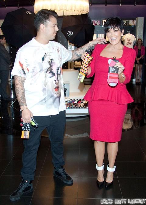Kris Jenner Disgusted - Rob Kardashian Headed To Rehab