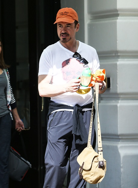 Robert Downey Jr. and Wife Susan Pregnant Expecting Second Child Together - It's A Girl!