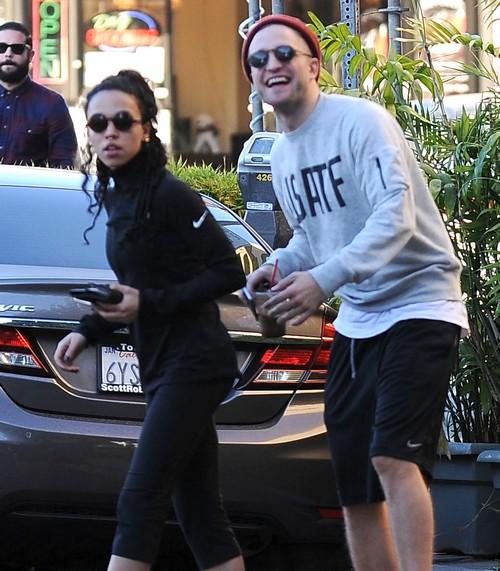 "Robert Pattinson and FKA Twigs Discussing Marriage Already - Kristen Stewart Says ""Stop"" (PHOTOS)"