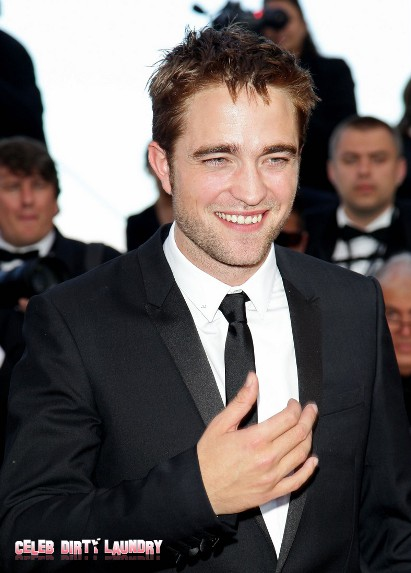 Robert Pattinson Shows Up At Cannes To Support His Lovely Lady Kristen Stewart
