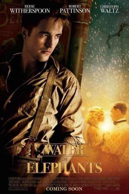 FIRST LOOK: Robert Pattinson's New 'Water For Elephants' Poster - See It Here!