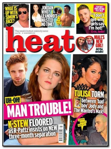 """Robert Pattinson and Kristen Stewart Start """"3-Month Separation"""" Immediately After Breaking Dawn Part 2 Premieres"""