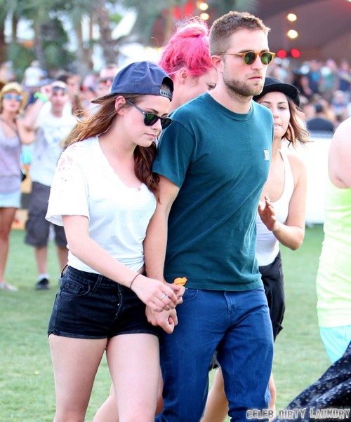 Robert Pattinson and Kristen Stewart At Coachella 2014 - Spotted Together Eyewitness Account!