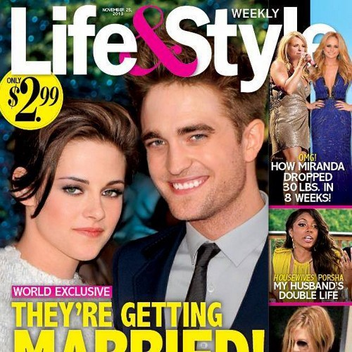 Robert Pattinson and Kristen Stewart Getting Married: Rob Proposes! (Photo)
