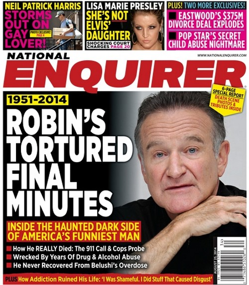 Robin Williams Suicide: Why Did Beloved Star Hang Himself? (PHOTO)