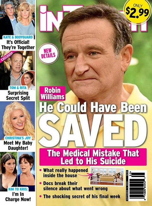 Robin Williams Suicide Death Caused by Medical Mistakes? (PHOTO)