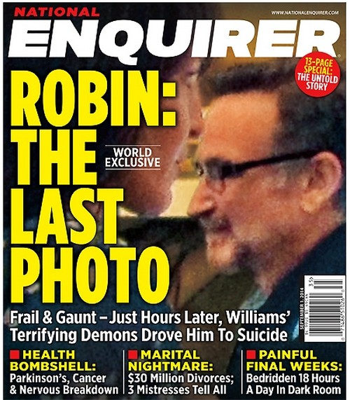 Robin Williams Battling Cancer As Well As Parkinson's Disease - 'The Last Photo' - Report